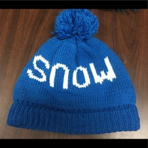 Royal Blue ❄️SNOW❄️ Beanie